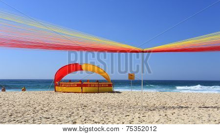 Sun, Sand, Surf And A Permanent 'sunrise - Tamarama Beach