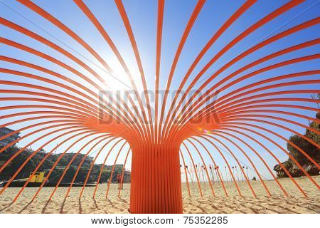 Sculpture By The Sea Titled Sea Anemone