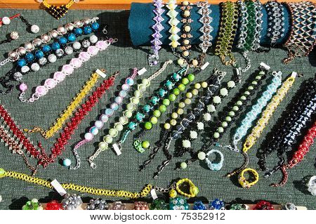 Costume Jewelery And Beads