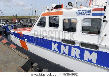 Lifeboat in Port Terneuzen