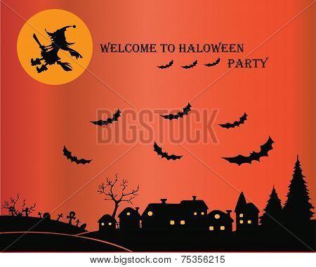 Halloween Party flyer 4