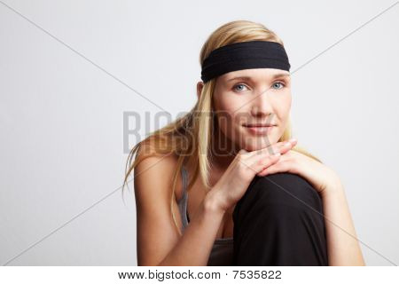 Woman With Headband