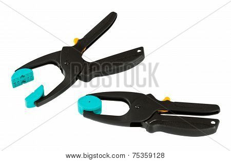 Two Plastic Clamp