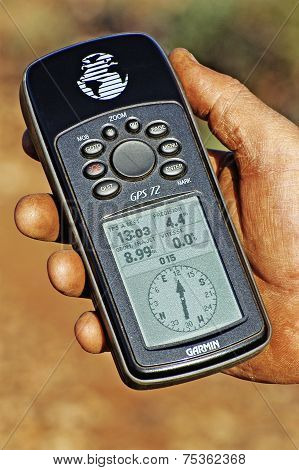 Make The Point With A Gps In The Australian Outback