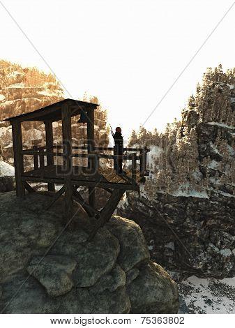 Guarding the Mountain Pass