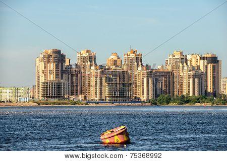Residential District In St. Petersburg