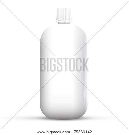 Plastic Bottle for Gel