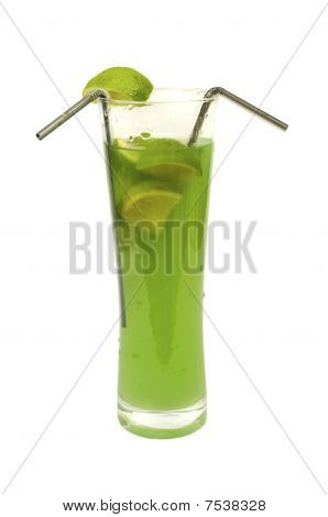 Lime And Kiwi Cocktail