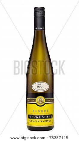 Semi-dry Wine Alsace Pierre Sparr Gewurztraminer 2009