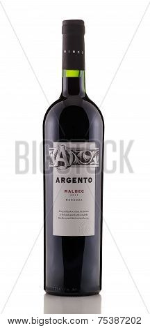 Red Dry Wine Argento Malbec 2011