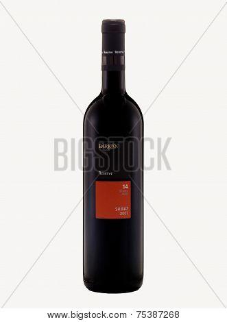 Red Dry Wine Barkan Reserve Shiraz 2007