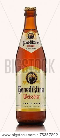 One Bottle Of Benediktiner Weissbier