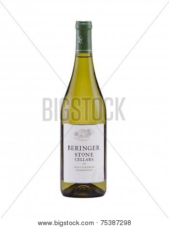 White Dry Wine Beringer Stone Cellars 2010 California Chardonnay