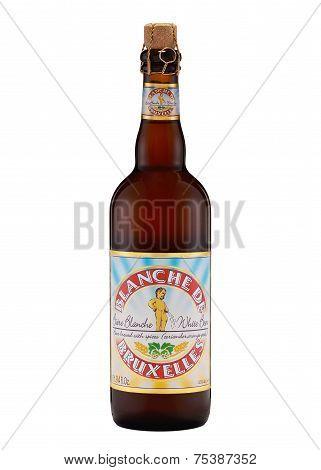 Belgian White Beer (witbier) Blanche De Bruxelles
