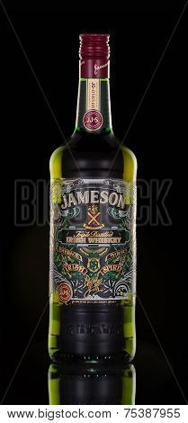 One Bottle Of Jameson Whiskey Triple Distilled