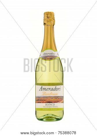 Sparkling Wine Ameradori Lambrusco Bianco Vino Spumante Demi-sec