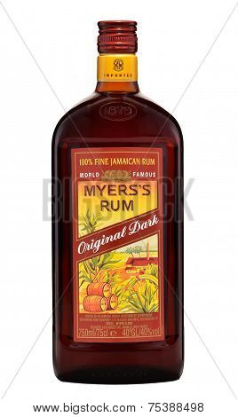 One Bottle Of Myers's Rum 40%, 750Ml