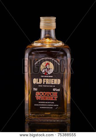One Bottle Of Whisky Old Friend