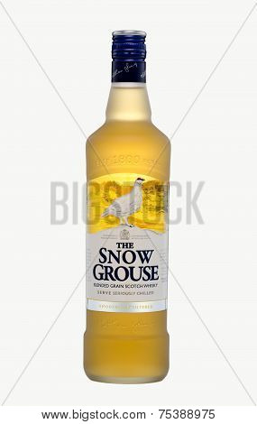 One Bottle Of The Snow Grouse Blended Grain Scotch Whisky