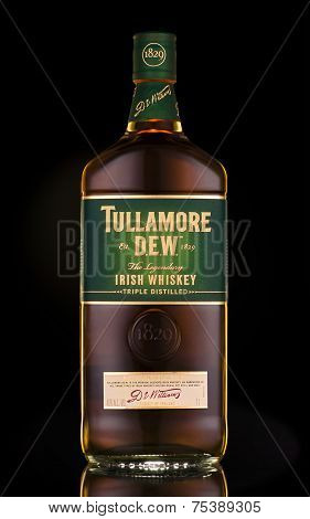 Tullamore Dew Irish Whiskey Triple Distilled