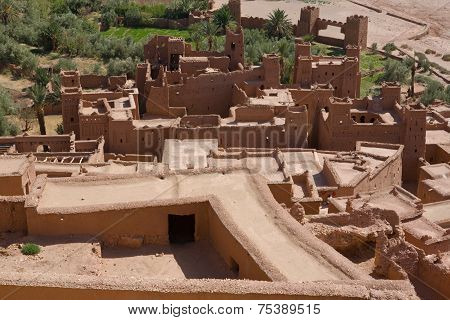 Ksar Ait Ben Haddou From Top