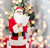 image of letters to santa claus  - christmas - JPG