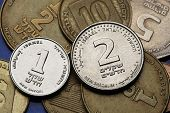 picture of shekel  - Coins of Israel - JPG