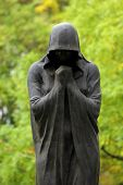 picture of cemetery  - Beautiful Statue in Kerepesi Cemetery Budapest Hungary - JPG