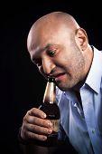 picture of hillbilly  - european man very emotionally open beer teeth - JPG