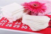picture of menses  - Sanitary pads - JPG