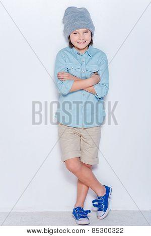 Fashionable Little Boy.