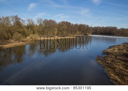 River In Spring