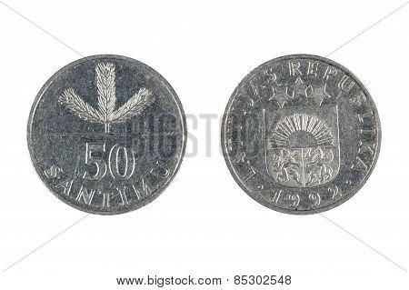 Latvia Coin