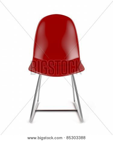 Red Transparent Chair