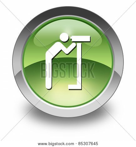 Icon, Button, Pictogram Viewing Area
