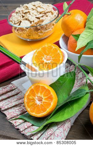 Yogurt With Orange