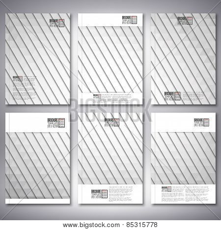 Abstract gray background, triangle design vector. Brochure, flyer or report for business, templates