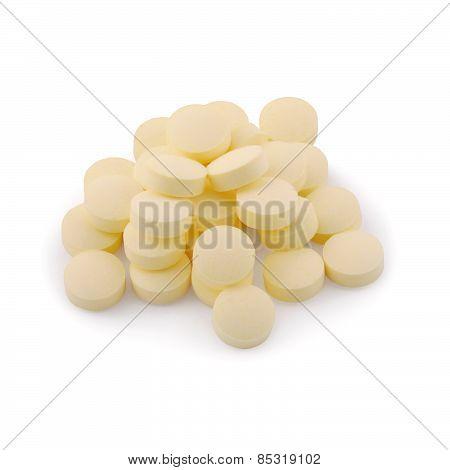 Vitamin (clipping Path)