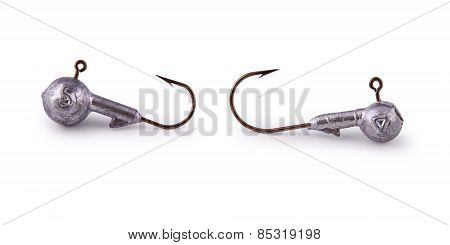 Hook, Artificial Bait, Jig (clipping Path)
