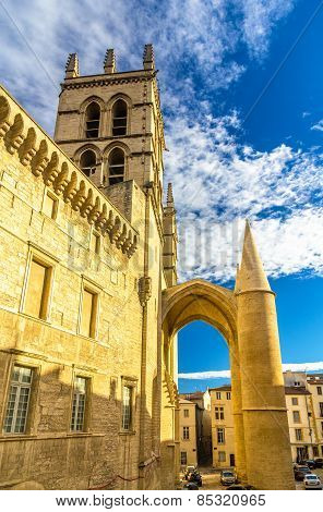 Montpellier Cathedral Of Saint Pierre - France, Languedoc-roussillon