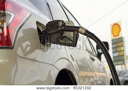 Filling up the Gas Tank