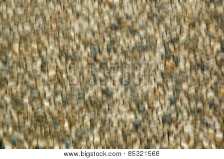 Blurred abstract background from gravel