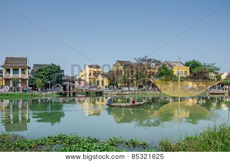Hoi An is a UNESCO World Heritage Site and popular with tour