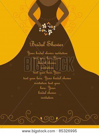 Bridal Shower / Wedding Invitation Card
