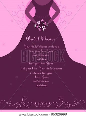Wedding / Bridal Shower Invitation