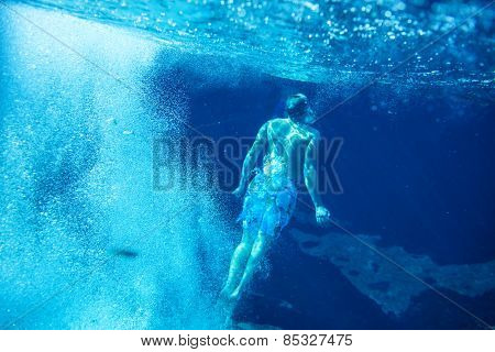 sandy sea bottom
