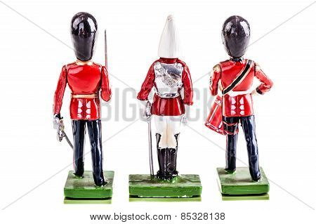 Tin British Guards