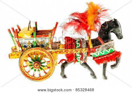Sicilian Folkloristic Horse Cart