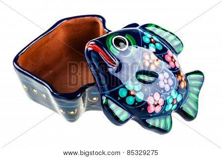 Open Fish Shaped Box