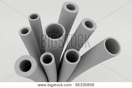 Plastic Pipes For Heating Systems And Water Supply